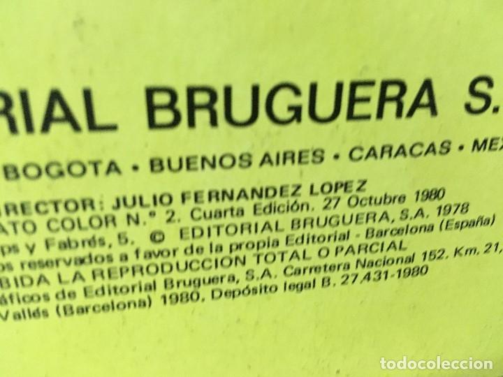 Tebeos: LOTE DE 8 CÓMICS - ÁLBUM COLOR DE BRUGUERA - EL JABATO Nº 1 2 3 4 6 7 8 10 - Foto 5 - 180440280