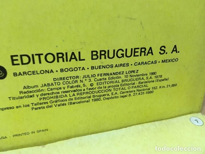 Tebeos: LOTE DE 8 CÓMICS - ÁLBUM COLOR DE BRUGUERA - EL JABATO Nº 1 2 3 4 6 7 8 10 - Foto 6 - 180440280