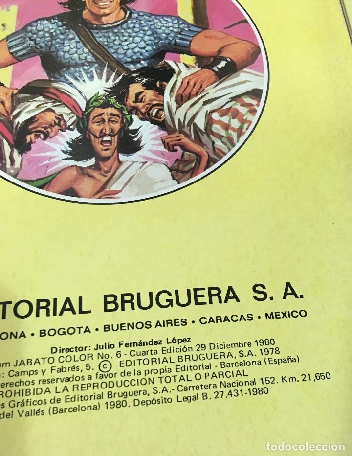 Tebeos: LOTE DE 8 CÓMICS - ÁLBUM COLOR DE BRUGUERA - EL JABATO Nº 1 2 3 4 6 7 8 10 - Foto 8 - 180440280