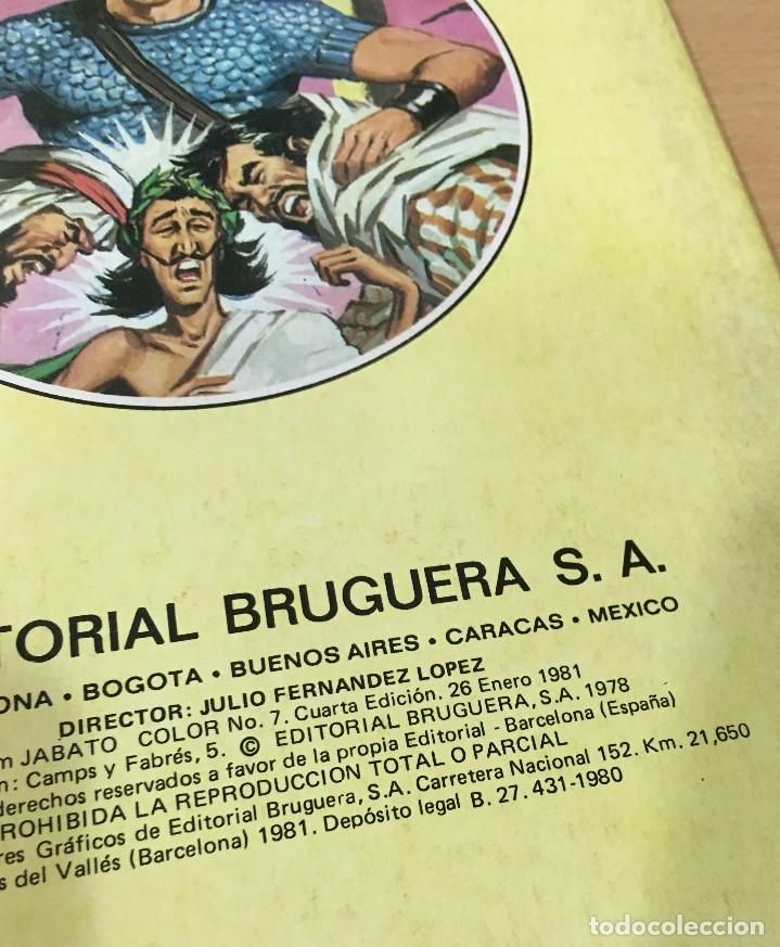 Tebeos: LOTE DE 8 CÓMICS - ÁLBUM COLOR DE BRUGUERA - EL JABATO Nº 1 2 3 4 6 7 8 10 - Foto 9 - 180440280