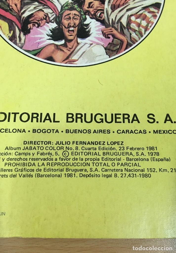 Tebeos: LOTE DE 8 CÓMICS - ÁLBUM COLOR DE BRUGUERA - EL JABATO Nº 1 2 3 4 6 7 8 10 - Foto 10 - 180440280