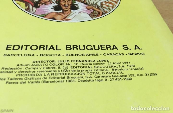 Tebeos: LOTE DE 8 CÓMICS - ÁLBUM COLOR DE BRUGUERA - EL JABATO Nº 1 2 3 4 6 7 8 10 - Foto 11 - 180440280