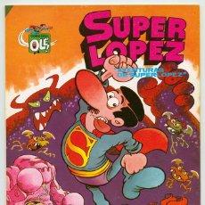 Tebeos: COLECCIÓN OLÉ! - SUPER LOPEZ - AVENTURAS DE SUPERLOPEZ - ED. BRUGUERA - Nº 1 - 3ª EDICIÓN - 1983. Lote 180450996