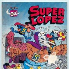 Tebeos: COLECCIÓN OLÉ! - SUPER LOPEZ SUPERLOPEZ - ED. BRUGUERA - Nº 3 - 1ª EDICIÓN - 1981. Lote 180451890