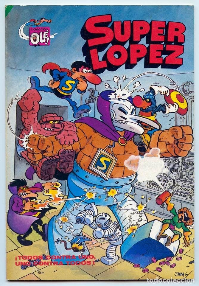 COLECCIÓN OLÉ! - SUPER LOPEZ SUPERLOPEZ - ED. BRUGUERA - Nº 3 - 3ª EDICIÓN - 1983 (Tebeos y Comics - Bruguera - Ole)