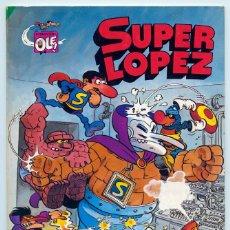 Tebeos: COLECCIÓN OLÉ! - SUPER LOPEZ SUPERLOPEZ - ED. BRUGUERA - Nº 3 - 3ª EDICIÓN - 1983. Lote 180452276