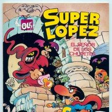 Tebeos: COLECCIÓN OLÉ! - SUPER LOPEZ SUPERLOPEZ - ED. BRUGUERA - Nº 5 - 1ª EDICIÓN - 1981. Lote 180453353