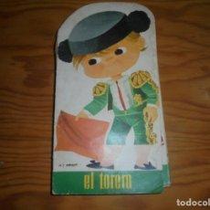 Tebeos: PARVULIN, COLECCION TROQUELADOS Nº 10 : EL TORERO. EDT. BRUGUERA, 1967. ARNALOT. Lote 180453695