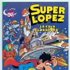 Tebeos: COLECCIÓN OLÉ! - SUPER LOPEZ SUPERLOPEZ - LA CAJA DE PANDORA - BRUGUERA - Nº 8 - 1ª EDICIÓN - 1984. Lote 180453722