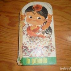 Tebeos: PARVULIN, COLECCION TROQUELADOS Nº 11 : LA GITANILLA. EDT. BRUGUERA, 1967. ARNALOT. Lote 180453817