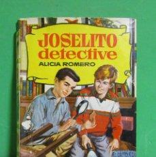 Tebeos: ALICIA ROMERO- JOSELITO DETECTIVE- EDIT BRUGUERA COLECCION HISTORIAS ILUSTRADO 1 EDICION 1963. Lote 180509277