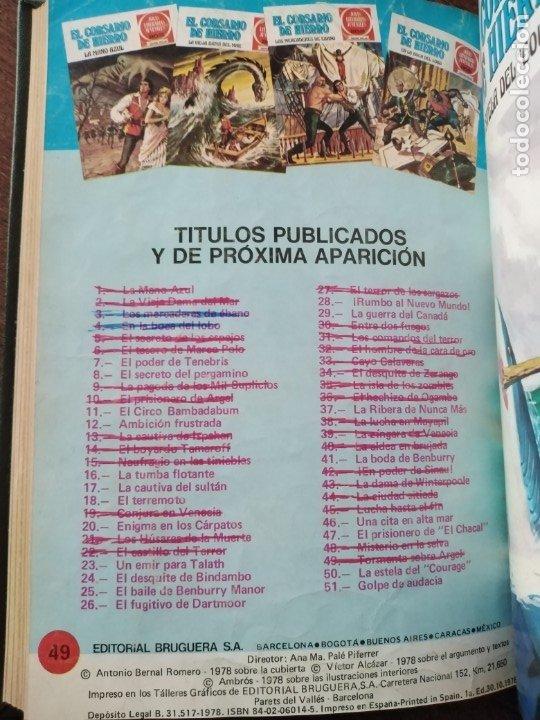 Tebeos: TOMO EL CORSARIO DE HIERRO DEL 41 AL 50 - Foto 7 - 179068673