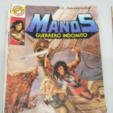 Tebeos: MANOS GUERRERO INDOMITO Nº 23 / BRUGUERA. Lote 180852828