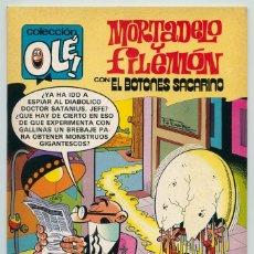 Tebeos: COLECCIÓN OLÉ! - MORTADELO Y FILEMÓN - ED. BRUGUERA - Nº 232 - 1ª EDICIÓN - 1981. Lote 180924085