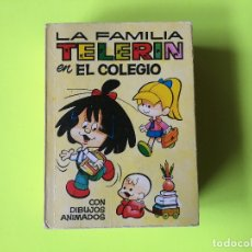 Tebeos: COMIC MINI INFANCIA NUMERO 23, LA FAMILIA TELERIN, EN EL COLEGIO, PRIMERA EDICION 1968. Lote 180926100