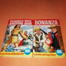 Tebeos: COLECCION HEROES. BONANZA Y BUFFALO BILL. BRUGUERA. . Lote 180947141
