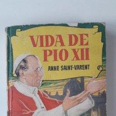 Tebeos: VIDA DE PÍO XII. HISTORIAS SELECCIÓN Nº 84, FEBRERO 1959.. Lote 180970721