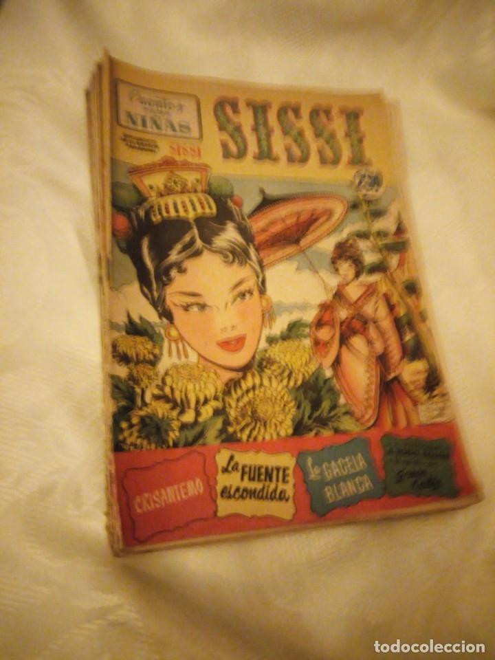 SISSI CUENTOS PARA NIÑAS LOTE DE 28 NºS. 1958 (Tebeos y Comics - Bruguera - Sissi)