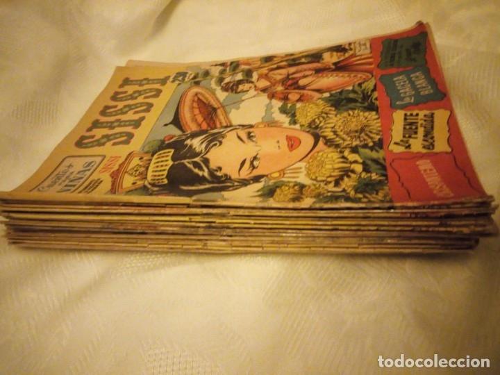 Tebeos: SISSI CUENTOS PARA NIÑAS lote de 28 nºs. 1958 - Foto 2 - 180975140