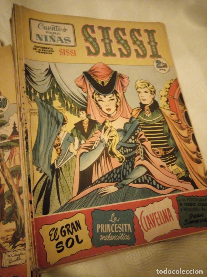 Tebeos: SISSI CUENTOS PARA NIÑAS lote de 28 nºs. 1958 - Foto 3 - 180975140