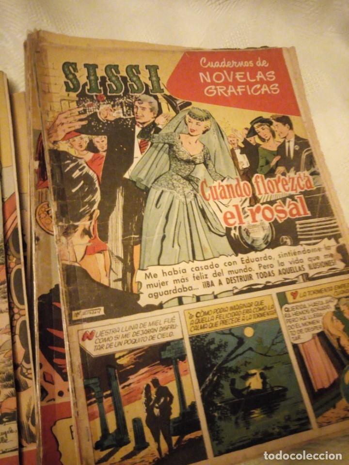 Tebeos: SISSI CUENTOS PARA NIÑAS lote de 28 nºs. 1958 - Foto 5 - 180975140