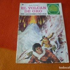 Tebeos: JOYAS LITERARIAS JUVENILES Nº 79 EL VOLCAN DE ORO ( VERNE ) 30 PTS 1978 3ª EDICION BRUGUERA. Lote 180993136