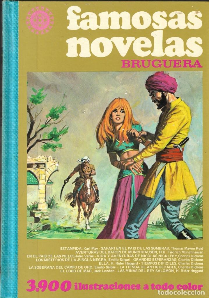 FAMOSAS NOVELAS BRUGUERA TOMO XII - 12 - EDT. BRUGUERA, 2ª EDICIÓN, 1979. (Tebeos y Comics - Bruguera - Otros)