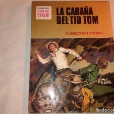 Tebeos: LA CABAÑA DEL TIO TOM, 1ª EDICION, Nº 1, COLECCION HISTORIAS COLOR 1972. Lote 181094918