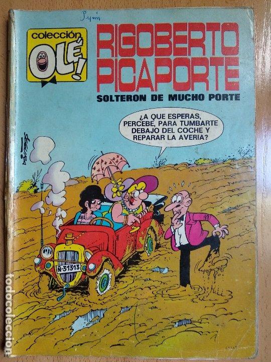 OLE Nº 7. RIGOBERTO PICAPORTE. 1ª EDICION 1971. NUMERO EN LOMO. BRUGUERA (Tebeos y Comics - Bruguera - Ole)