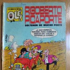 Tebeos: OLE Nº 7. RIGOBERTO PICAPORTE. 1ª EDICION 1971. NUMERO EN LOMO. BRUGUERA. Lote 181119263