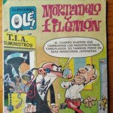 BDs: MORTADELO Y FILEMON, NOVEDADES EN LA TIA - COLECCION OLE! Nº 215 - BRUGUERA 1981. Lote 181192685