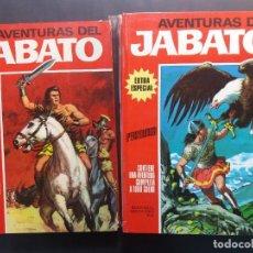 Tebeos: AVENTURAS DEL JABATO. EXTRA ESPECIAL- COMPLETA- TOMO ROJO. BRUGUERA 1970. Lote 181195998