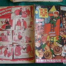 Livros de Banda Desenhada: ALMANAQUE DDT 1955 ORIGINAL CJ 9. Lote 181204303