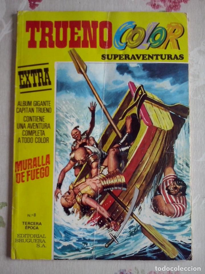 BRUGUERA - TRUENO COLOR SUPER AVENTURAS EXTRA NUM. 8 ,TERCERA EPOCA ALBUM GIGANTE (Tebeos y Comics - Bruguera - Capitán Trueno)