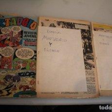 Tebeos: MORTADELO Y FILEMON SIN CUBIERTAS. Lote 181343597