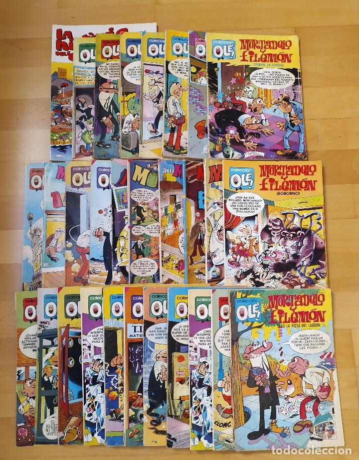 LOTE 29 COMICS MORTADELO Y FILEMON VARIOS ESTADOS EDITORIAL BRUGUERA (Tebeos y Comics - Bruguera - Mortadelo)