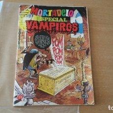 Tebeos: MORTADELO ESPECIAL VAMPIROS N° 10. Lote 181545736