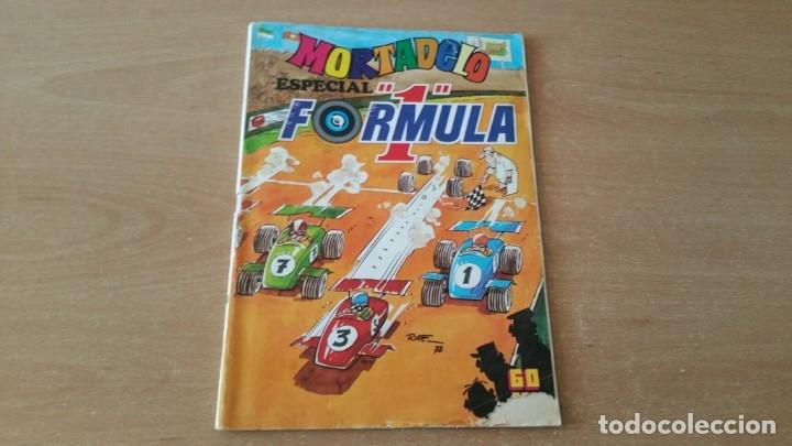 MORTADELO ESPECIAL FORMULA 1 N° 50 (Tebeos y Comics - Bruguera - Mortadelo)