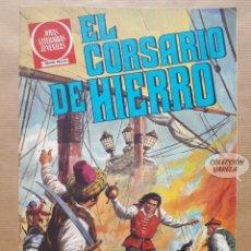 Tebeos: EL CORSARIO DE HIERRO - SERIE ROJA - Nº 2 - LA VIEJA DAMA DEL MAR - BRUGUERA - JMV. Lote 181758780