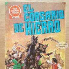 Tebeos: EL CORSARIO DE HIERRO - SERIE ROJA - Nº 55 - LA CIUDAD OLVIDADA - BRUGUERA - JMV. Lote 181759406