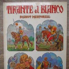 Tebeos: TIRANTE EL BLANCO - TOMO INTEGRAL TAPA DURA - BRUGUERA 1982 1ª EDICCION - CASTELLANO. Lote 181771301