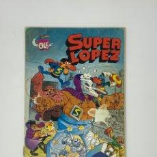 Tebeos: SUPER LÓPEZ - TODOS CONTRA UNO Y UNO CONTRA TODOS- EDITORIAL BRUGERA 1983.. Lote 181738982