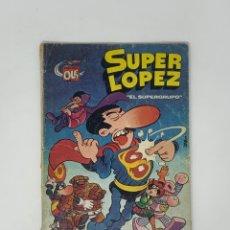 Tebeos: SUPER LÓPEZ - EL SÚPER GRUPO - EDITORIAL BRUGERA 1980.. Lote 181739656