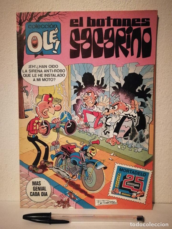 OLE - EL BOTONES SACARINO - 25 ANIVERSARIO MORTADELO - COMIC - BRUGUERA (Tebeos y Comics - Bruguera - Ole)