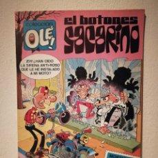 Tebeos: OLE - EL BOTONES SACARINO - 25 ANIVERSARIO MORTADELO - COMIC - BRUGUERA. Lote 181973082