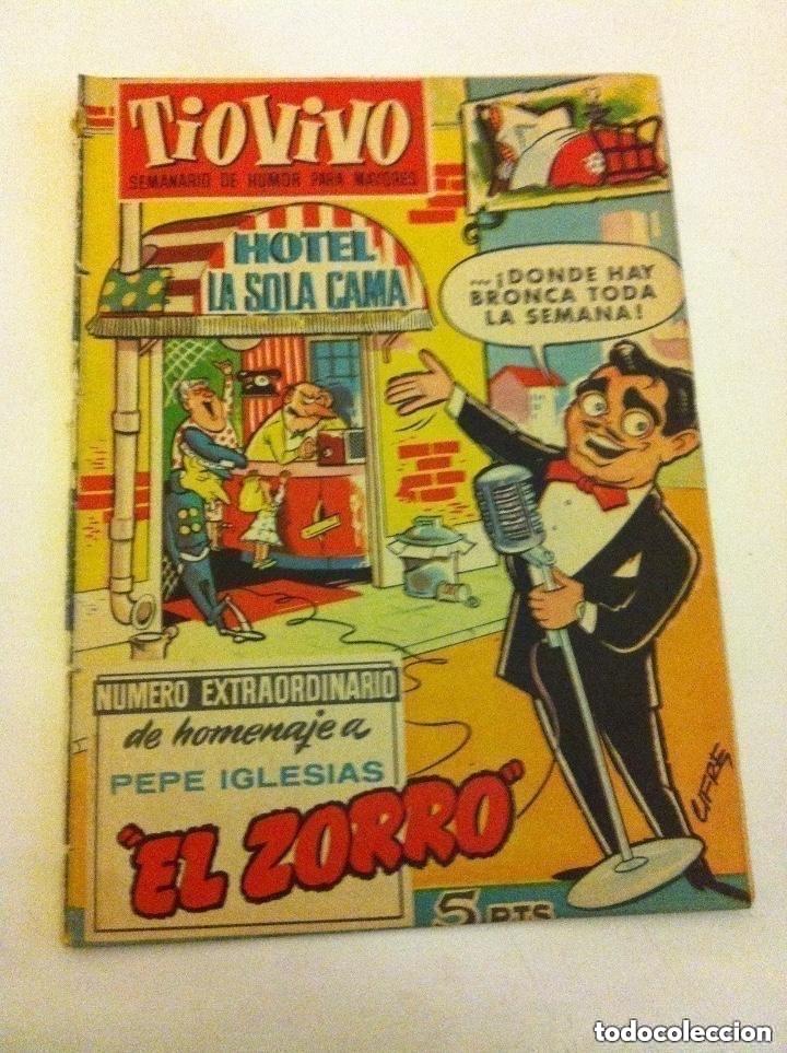TIO VIVO - EXTRA EL ZORRO - ENCUADERNACIÓN (Tebeos y Comics - Bruguera - Tio Vivo)