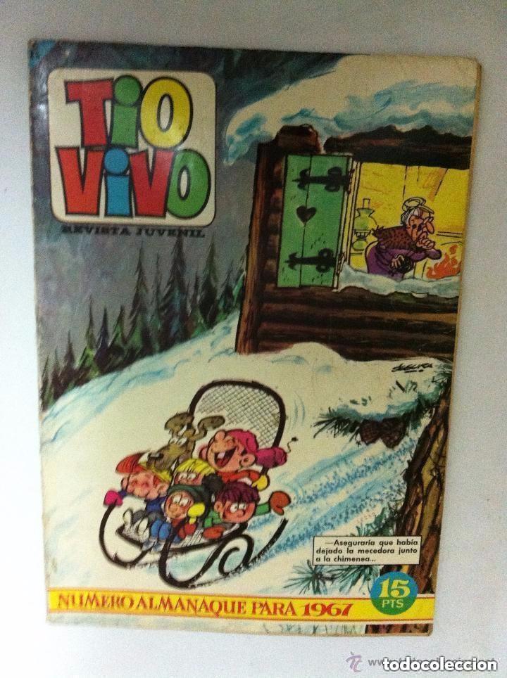 TIOVIVO- ALMANAQUE 1967 (Tebeos y Comics - Bruguera - Tio Vivo)