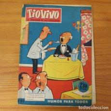 Tebeos: TIO VIVO 80 EL PROFESOR ATOMILON, EL CACO BONIFACIO, ANGEL AMOR... BRUGUERA CRISOL 1958. Lote 181984168