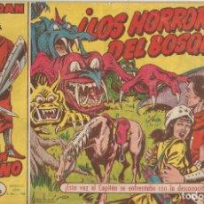 Tebeos: CUADERNILLO ORIGINAL. CAPITÁN TRUENO Nº 21 LOS HORRORES DEL BOSQUE. 1958. Lote 181984373