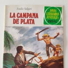 Tebeos: LA CAMPANA DE PLATA, DE JOYAS LITERARIAS JUVENILES 224, EMILIO SALGARI 1975. Lote 182076410